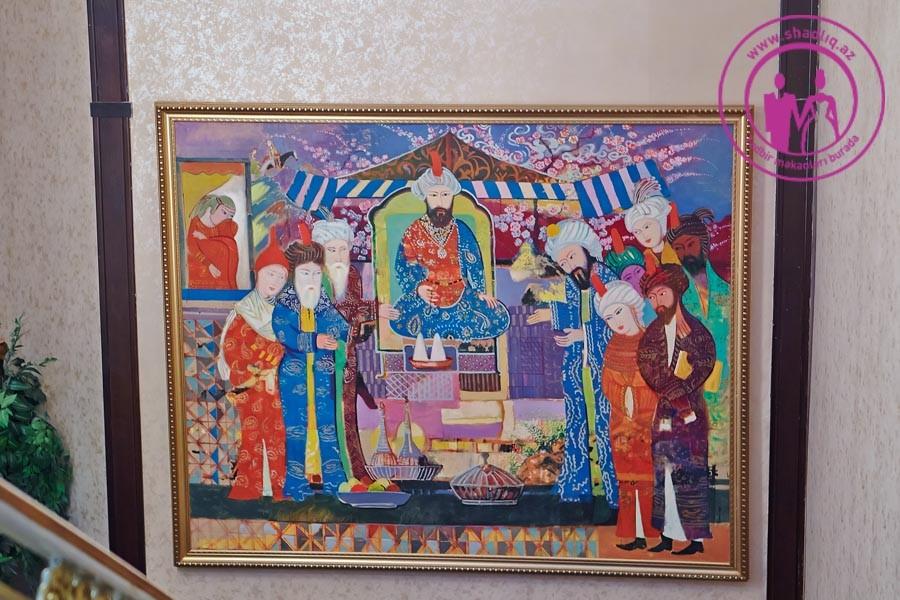 Yeddi Gözəl şadlıq sarayı