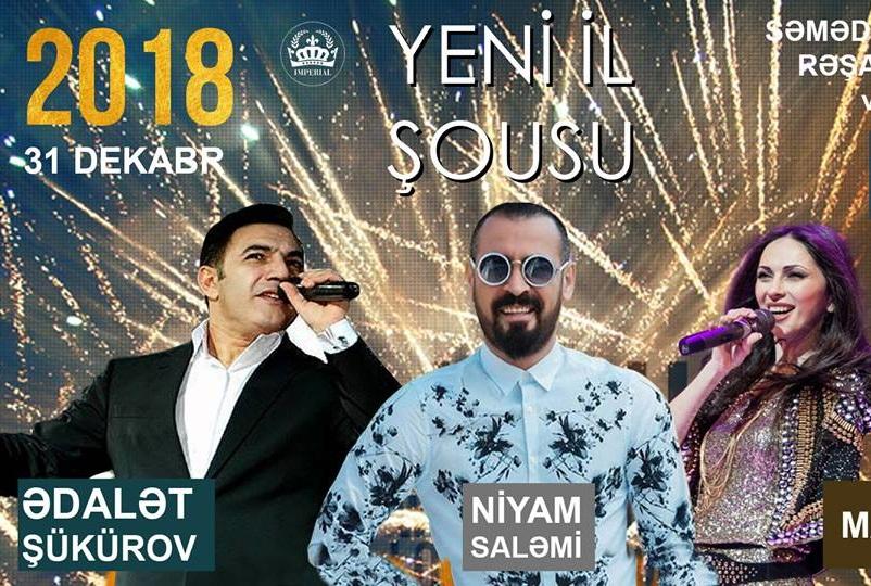 YENİ İL 2018 RESTORANLARDA ŞOU PROQRAM QİYMƏTLƏRİ & SIYAHI